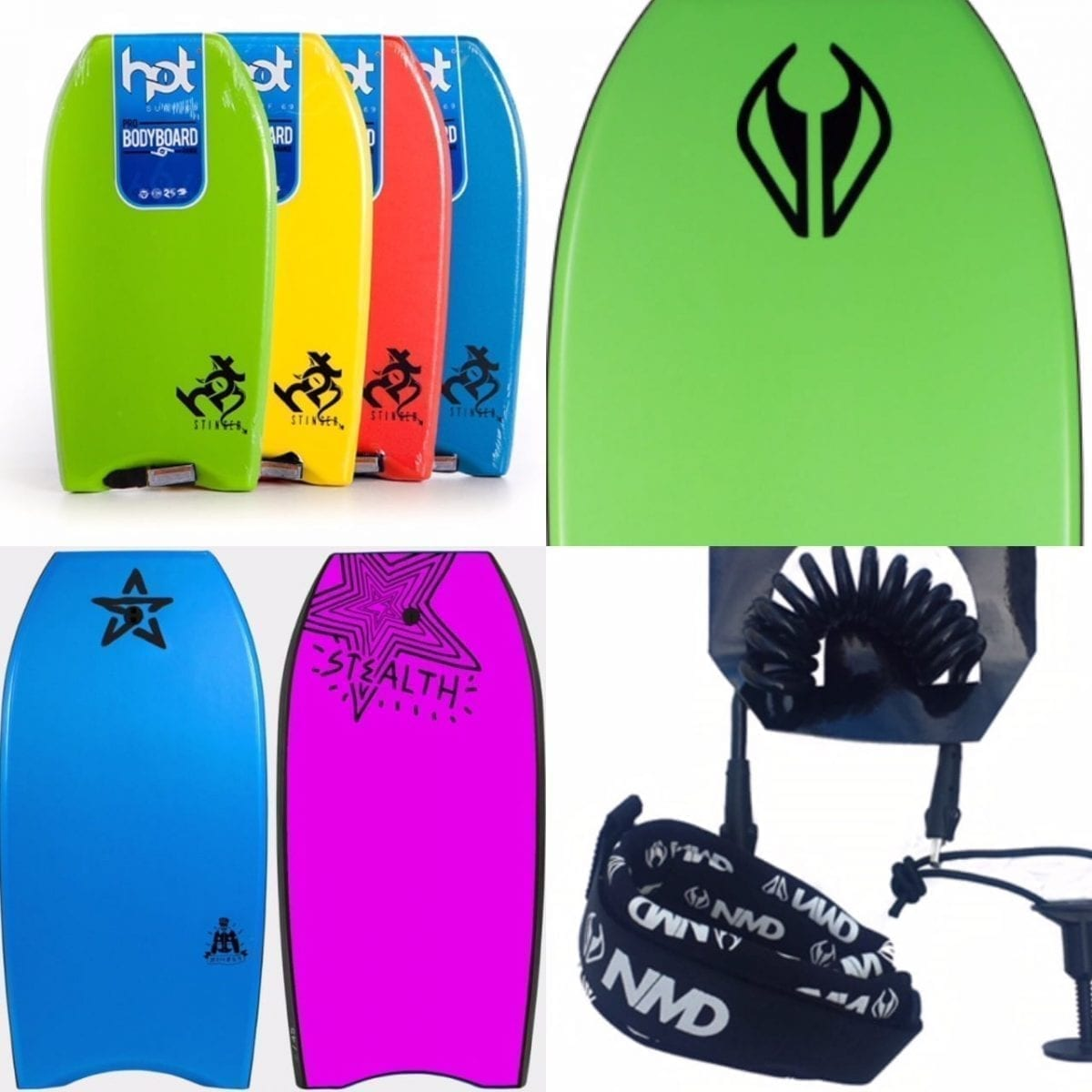 Bodyboards & Flippers