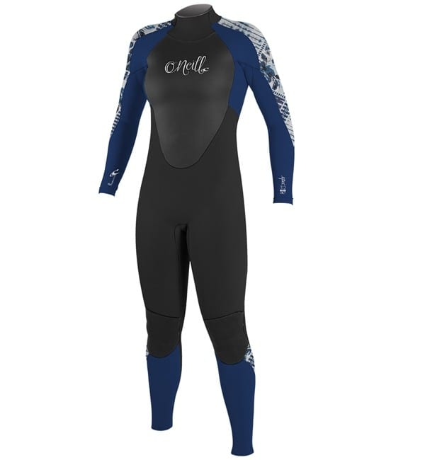 O neill Womens Epic 5 4 Winter Wetsuit blk nvy indpatch 2019 Full Suit -4218 47ffa485f