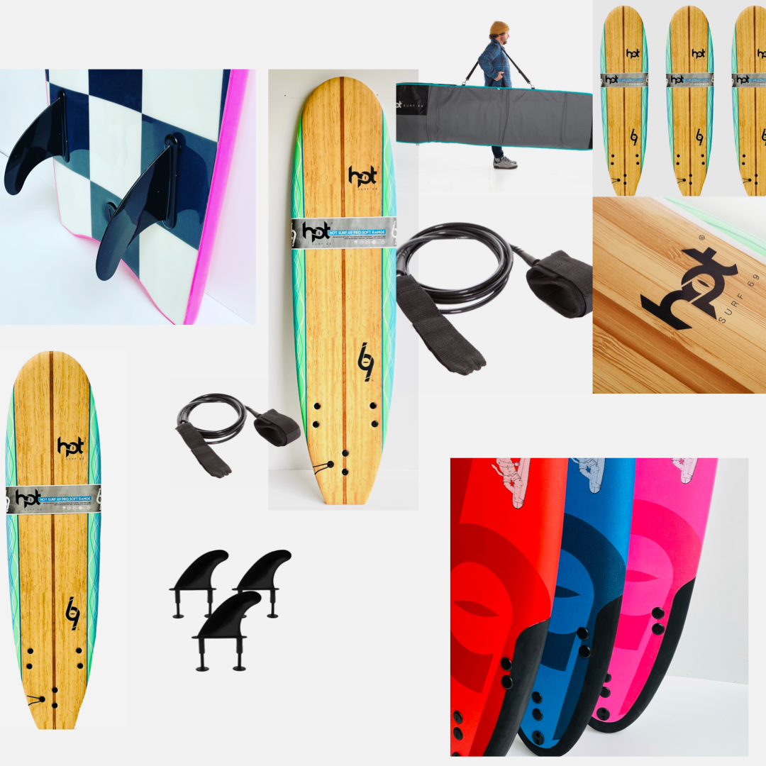 Hot Surf 69 Softboards & Package Deals